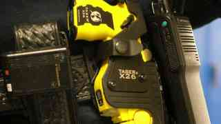Dick sets sights on tasers and cyber crime