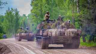 NATO holds first war games on Baltic corridor