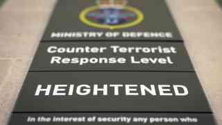 MI5 prevented nine terror attacks in last year