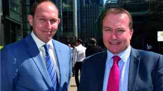 John Frost (left) M&S with Scott Wilson (right) CT Policing
