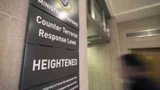UK to remain on high terror alert for at least two years