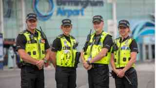 Project Servator launches at Birmingham Airport