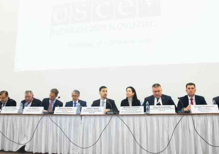 OCSE Conference stresses the need for co-operation in the fight against terror
